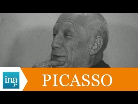 Rencontre avec Pablo Picasso en 1966 - Archive INA