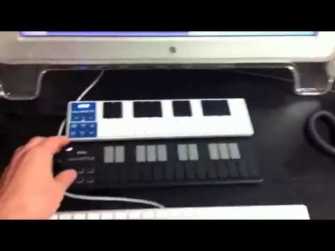 KORG nanoKEY2 Black CONTROLLER 25 TASTI MIDI//USB