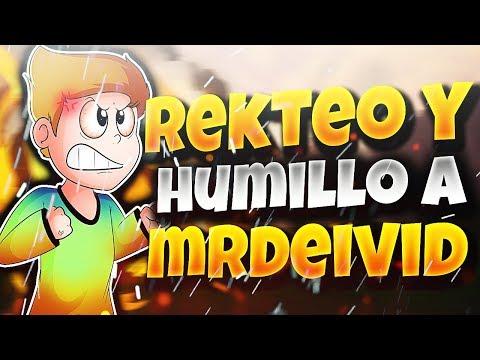 REKTEO Y HUMILLO A MRDEIVID EN 1 VS 1 ÉPICO!!! | CON BREEZILY Y RUSH EXTREMO!