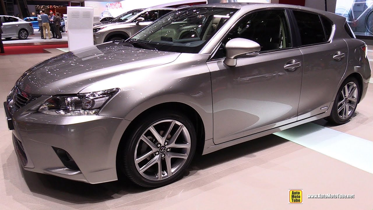 2015 lexus ct200h hybrid exterior and interior walkaround 2015 geneva motor show youtube