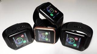 New Smart Watch GT08. Умные смарт часы браслет из Китая по распродаже. Как настроить умные часы