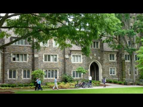 Campus Of Duke University-Private research university, Durham, North Carolina, United States.