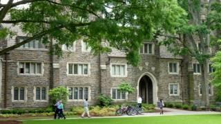 Campus Of Duke University-Private research university, Durham, North Carolina, United States.