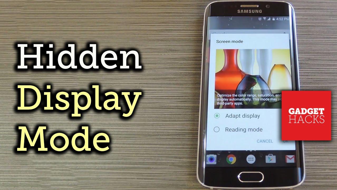 Unlock the 'Adapt Display' Screen Mode on Samsung Galaxy