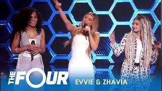 The Four Comeback Zhavia & Evvie McKinney EPIC Performance! S2E7 The Four