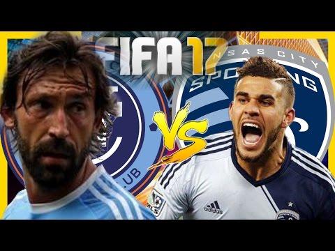 Fifa 17 NewYork City VS Kansas City Sporting (PRESEASON)