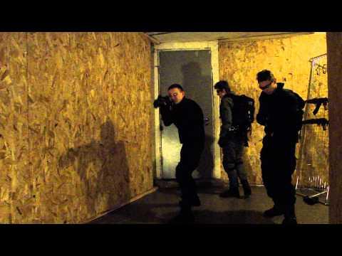 Тренировка команды FBI SWAT/HRT (Часть 1 из 7)
