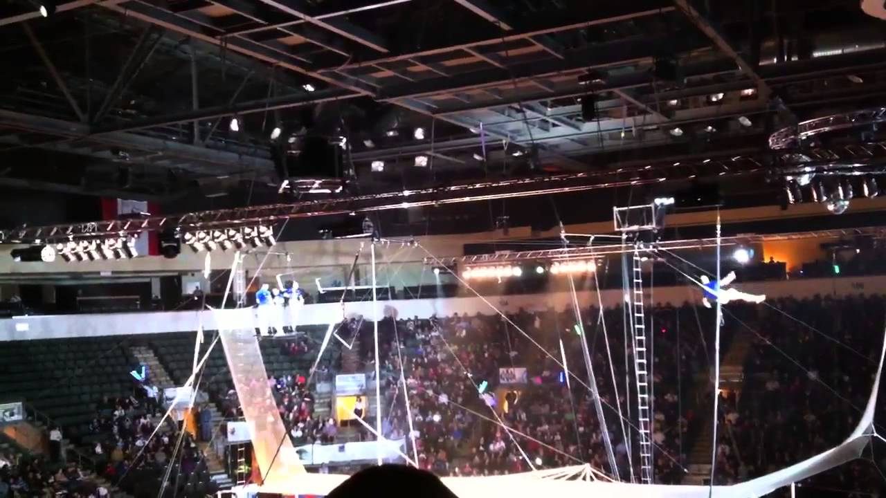 Shrine Circus In Cedar Park Center YouTube