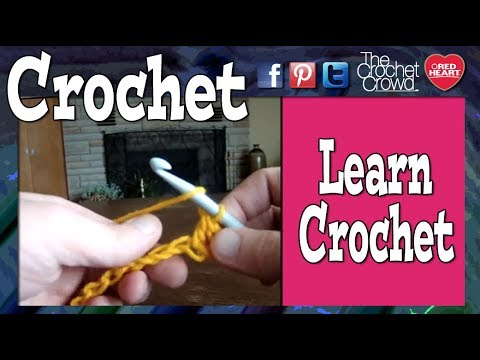 Crocheting With Mikey : Learn How To Crochet: Lesson 1 with Mikey - YouTube