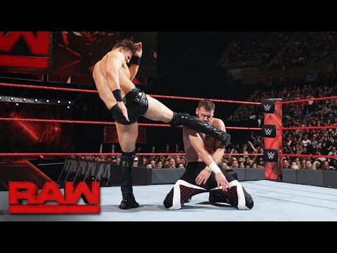 Sami Zayn vs. The Miz: Raw, April 10, 2017
