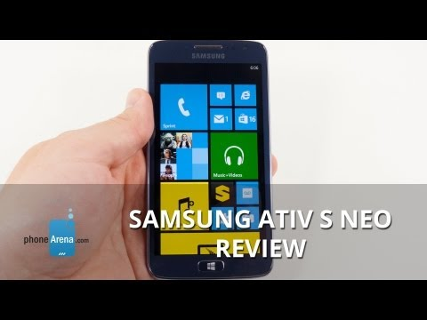 Samsung ATIV S Neo Review