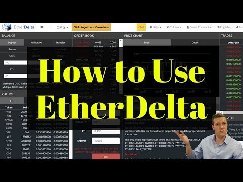 EtherDelta Tutorial - How to Buy ERC-20 Tokens on EtherDelta