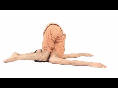 Karnapidasana/knee-to-ear-pose/कर्ण पीड़ासन /કર્ણ પીડાસન