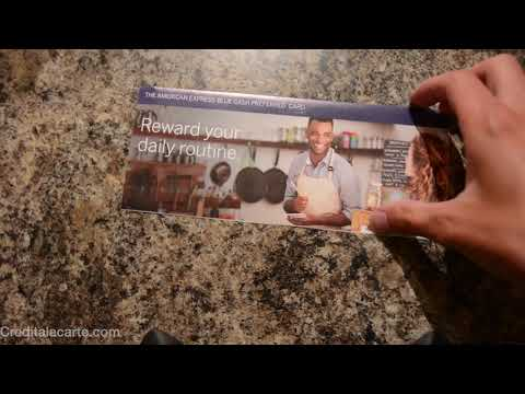 New 2019 American Express Blue Cash Preferred Unboxing