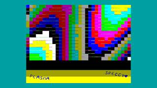 Spectro (1k intro) - Optimus/Dirty Minds [#zx spectrum AY Music Demo]