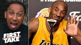 Download Kobe checks every box over Kawhi up to this point in their careers - Stephen A. | First Take Mp3 and Videos