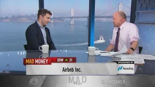 Gambar cover Airbnb CEO talks IPO process, Olympics housing, creating safe marketplace and more with Jim Cramer