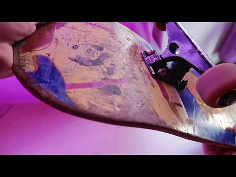How To Repair A Chipped/cracked Skateboard Deck