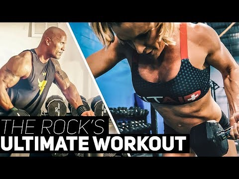 The Rock's Ultimate Workout   Sarah Grace Fitness