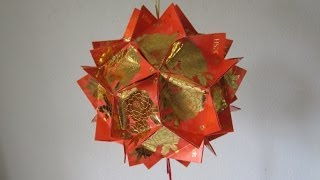 Repeat youtube video CNY TUTORIAL NO. 10 - Chinese New Year Red Packet (Hongbao) Lantern