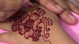 Henna Dan Anak Anak l Cara Mudah Melukis Dengan Henna