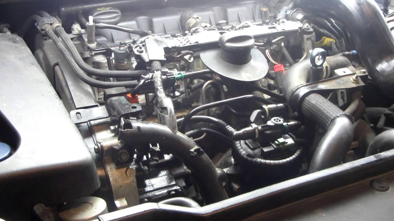307 SW 2.0 HDI запуск после ремонта форсунок