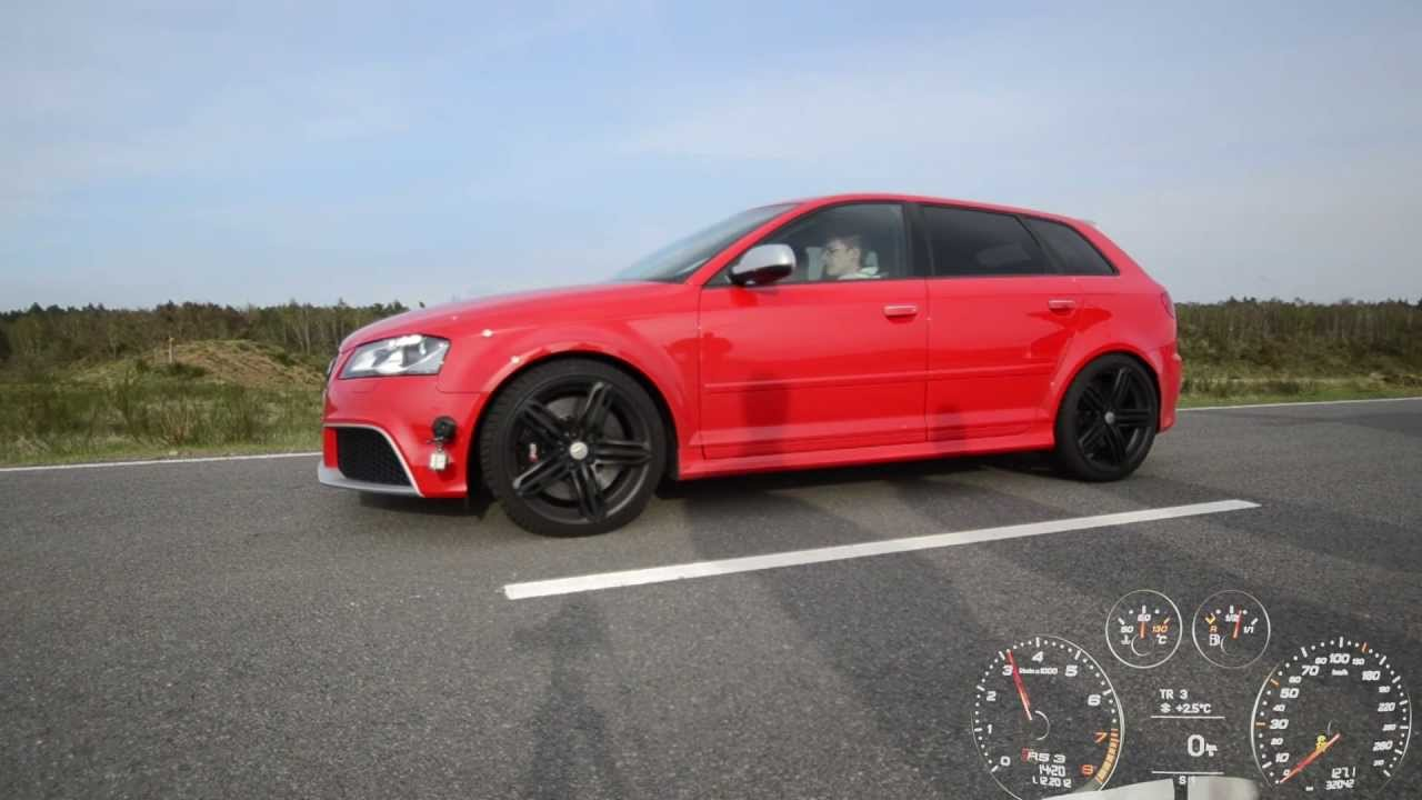 Audi Rs3 Launch Control Start Youtube