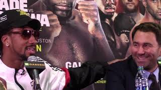 Eddie Hearn: Canelo will have to fight Demetrius Andrade full play fight conference