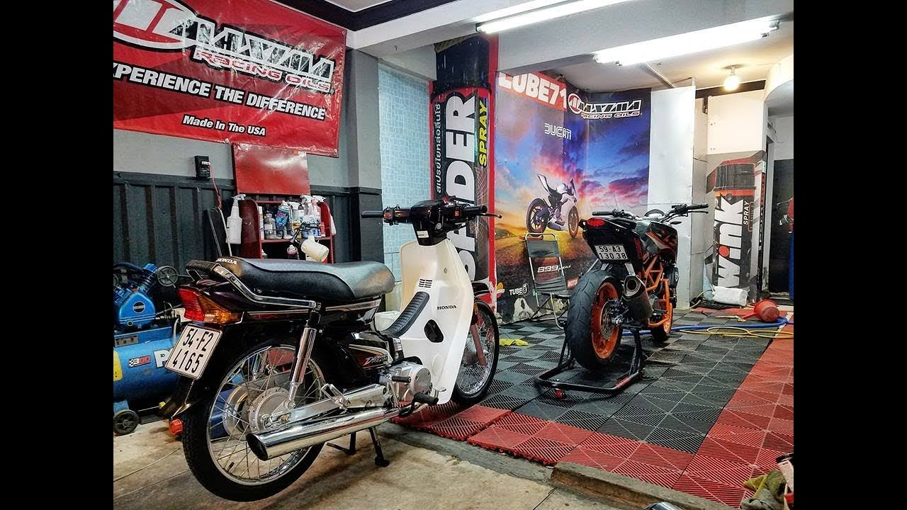 Đi Spa Làm Đẹp Dream 4165 & KTM Duke 390 (Vlog 125) Lube71