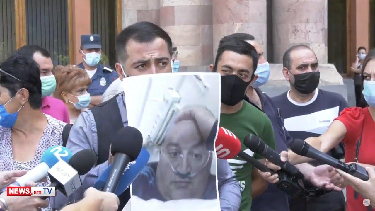 Տեսանյութ.Մենք անասուն չենք, որ գցեն ավտոբուսները տանեն,ռուսական կողմը ամոթ պետք է անի՝ իրենց պատճառով  է այս մարդը մահացել