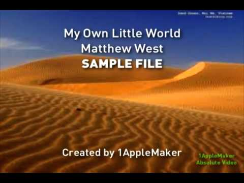 SAMPLE: My Own Little World (Instrumental) - Matthew West