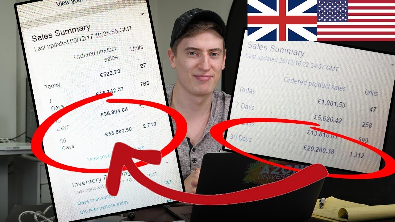 How I Find Amazon FBA Products that CONSISTENTLY Make Me Over £10,000 PROFIT Every Month!