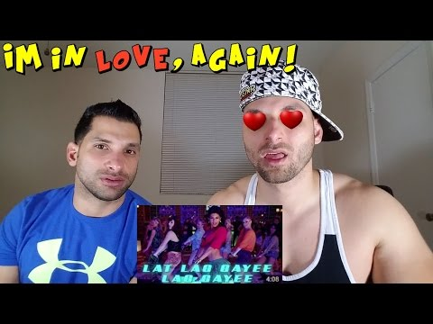 Lat Lag Gayee Bollywood Sing Along - Race 2 - Saif, Jacqueline, Benny Dayal, Shalmali [REACTION]
