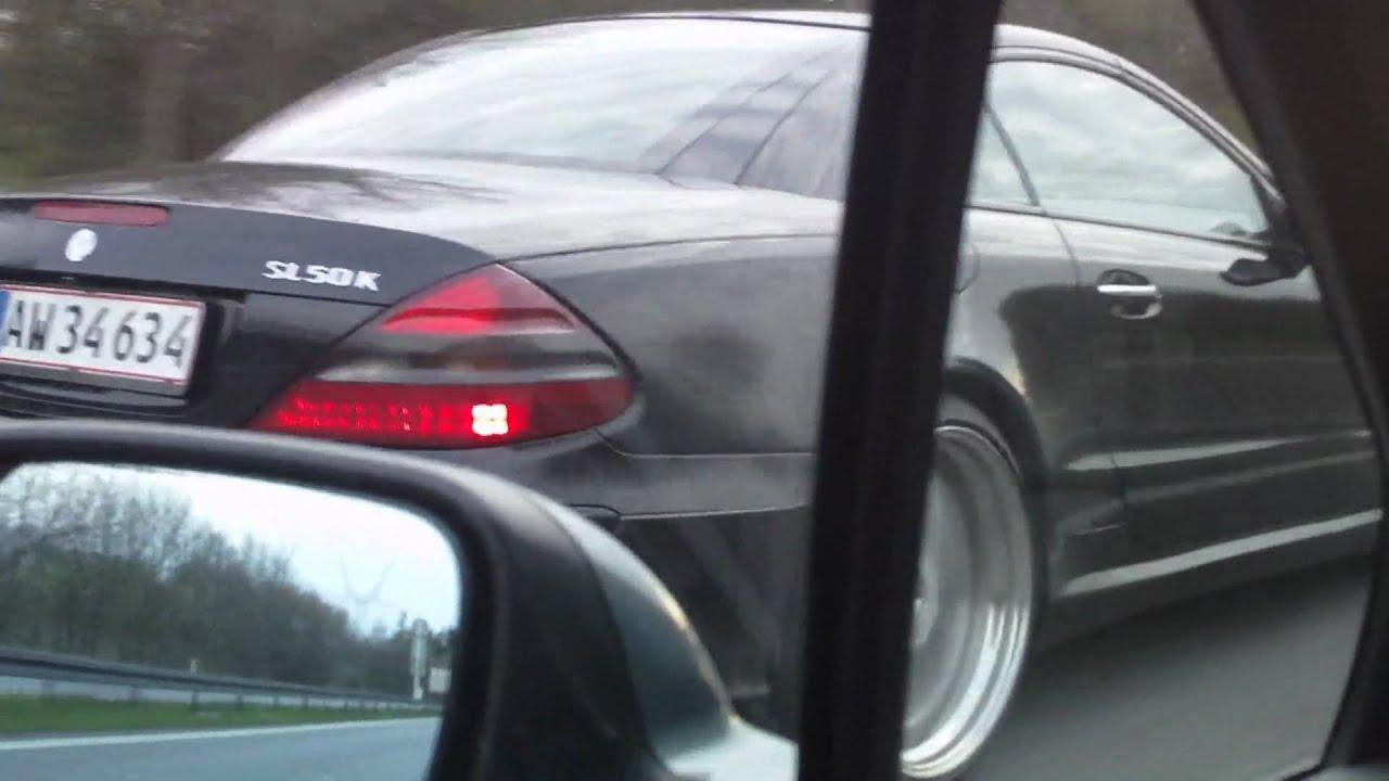 mercedes sl500 sl50k kleemann highway [ 1920 x 1080 Pixel ]