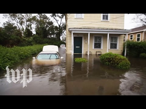 In the wake of Florence, a rush to save those stranded by the floods in New Bern, N.C.
