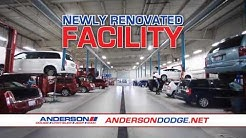 Visit our all new service department at Anderson Chrysler Dodge Jeep Ram!