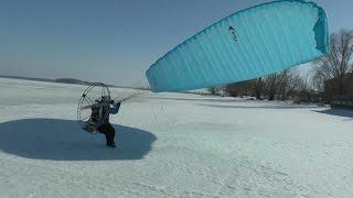 Полёт на параплане с мотором в Старой Майне