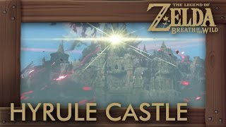 Zelda Breath of the Wild - How to Get Into Hyrule Castle (Easy Way to Reach Ganon Fast)