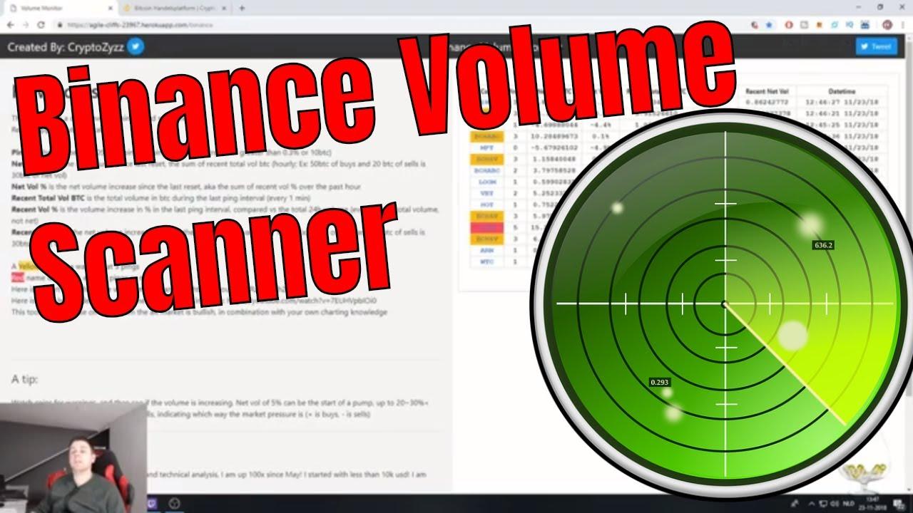 binance crypto scanner