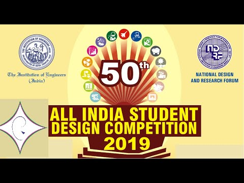 All India Students Design Competition by NDRF-IEI (2019)