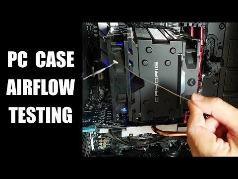 Airflow Analysis - Case, CPU Cooler, Intake/Exhaust Fans