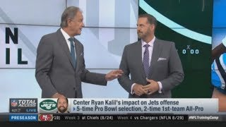 NFL Total Access: Center Ryan Kalil's Impact on Jets Offense, Adam Gase on Sam Darnold's Offense