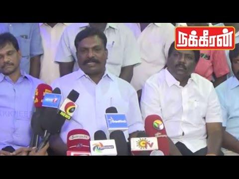 Thiruma supports Nakkheeran : Jayalalitha always kill Media Rights !