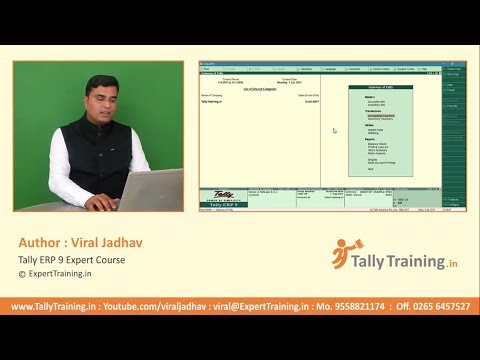 09 GST Sales Invoice Voucher Entry in Tally ERP9 | Tally ERP9 GST Sales Invoice