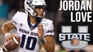 A HIDDEN GEM 💎 Jordan Love Utah State Highlights