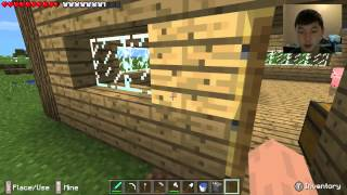 Minecraft PE Survival: Ep. 9 - Best Farm Idea Evarrrr