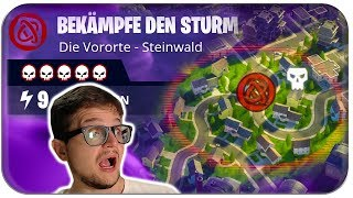 WIE LUSTIGER ALS BATTLE ROYALE 💀5* SOLO HARD MISSION | Fortnite Rette die Welt Deutsch German