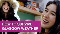 How to survive Glasgow weather
