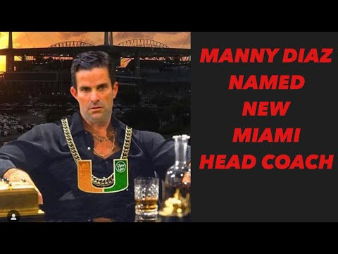BREAKING NEWS! MANNY DIAZ IS THE NEW HEAD COACH FOR THE MIAMI HURRICANES| College Football