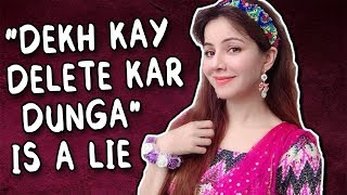 RABI PIRZADA'S NEW LEAKED VIDEOS - MY MSG TO ALL - Sana's Bucket